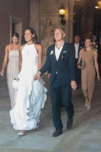 Ana Ivanovic und Bastian Schweinsteiger gaben sich in Venedig das Ja-Wort.