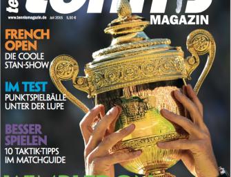 tennis MAGAZIN 7/2015: Wimbledon – Wer wird neuer Rasenkönig?