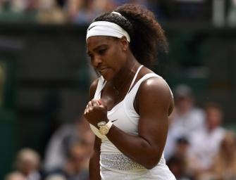 Serena Williams besiegt Venus und steht im Viertelfinale von Wimbledon