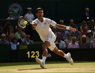 Djokovic greift nach seinem dritten Titel in Wimbledon