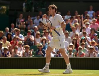 Andy Murray bezwingt Aufschlagriesen Karlovic