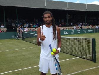 Viertelfinale von Newport: Brown gegen Karlovic
