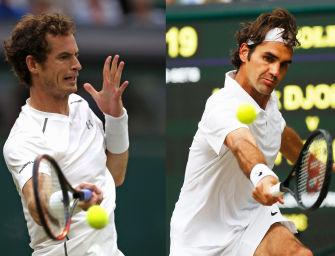 Match des Tages: Murray gegen Federer