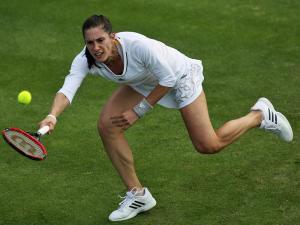 Steht wie Kerber in der dritten Runde: Andrea Petkovic