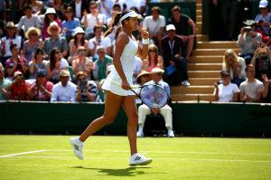 Ana Ivanovic im Match des Tages