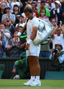 Rafael Nadal erlebte gegen Dustin Brown sein blaues Wunder. Raus in Runde zwei!