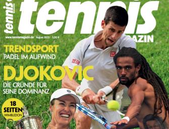 tennis MAGAZIN 8/2015: Novak Djokovic – die Gründe für seine Dominanz