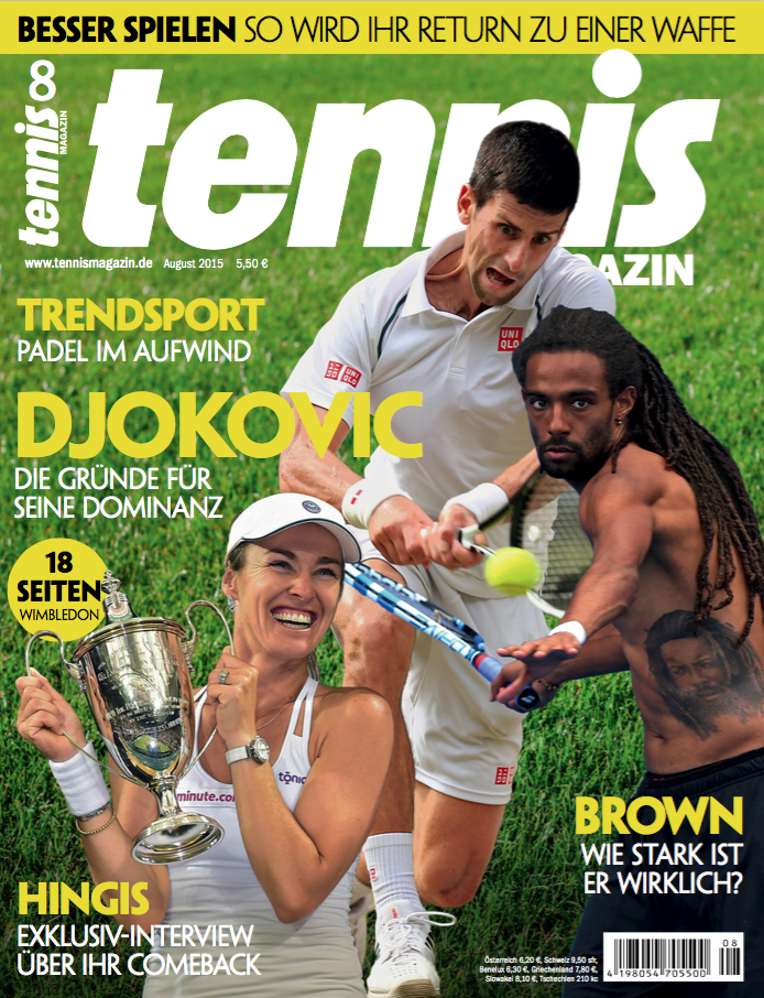 tennis MAGAZIN 08-15