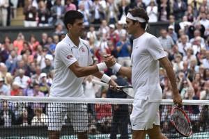 Djokovic gegen Federer