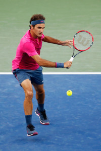 during Day 4 of the Western & Southern Open at the Linder Family Tennis Center on August 18, 2015 in Cincinnati, Ohio.