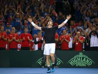 Davis Cup: Murray bringt Briten erstmals seit 1978 ins Finale