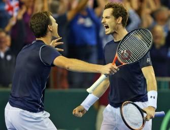 Davis Cup: Briten dank Murray-Brüder vor Final-Einzug