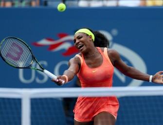 Topfavoritin Serena Williams quält sich in die dritte Runde