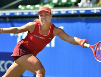Kerber in Tokio locker in Runde zwei