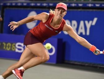 Tokio: Kerber scheitert an Wozniacki