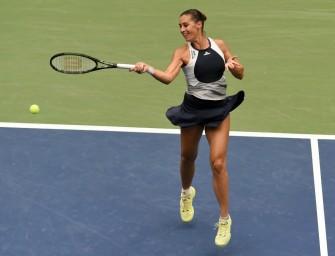 Bei Siegerehrung: US-Open-Siegerin Pennetta verkündet Karriereende