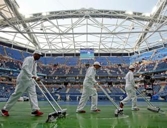 US Open: Frauen-Halbfinals wegen Regens auf Freitag verschoben
