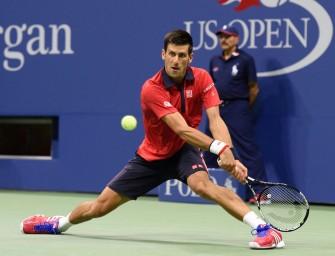 Trotz Satzverlust: Novak Djokovic im Viertelfinale