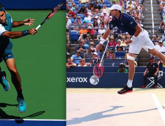 Match des Tages am Montag: Federer vs. Isner