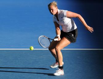Grönefeld im Doppel-Halbfinale von New York