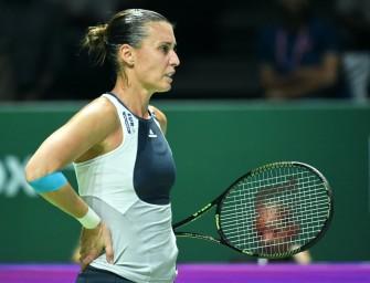 Sharapova beendet Karriere von Pennetta