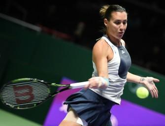 WTA-Finals: Pennetta wahrt Halbfinal-Chance