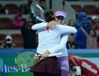 WTA Finals: Hingis/Mirza ungeschlagen ins Halbfinale