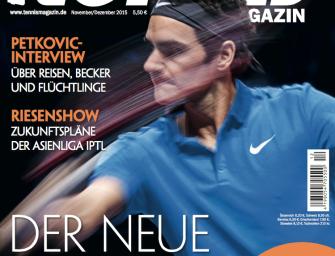 tennis MAGAZIN 11-12/2015: Der neue Federer