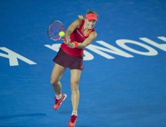 Singapur: Kerber gegen Muguruza, Kvitova und Safarova