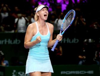 WTA Finals – Sharapova entzaubert Halep