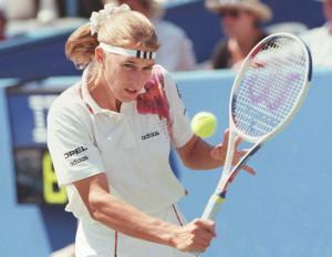 Tennis Weltrangliste Damen: Steffi Graf hielt sich so lange auf Rang eins wie keine andere – 377 Wochen.