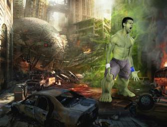 Stars auf Abwegen: Novak als Hulk, Roger als Hirte