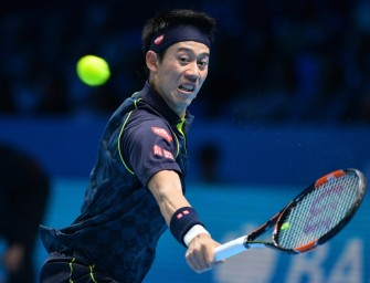 ATP-Finale: Nishikori wahrt Chance aufs Halbfinale