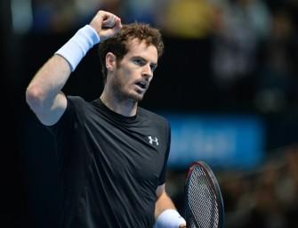 ATP-Finale: Murray bezwingt Ferrer zum Auftakt