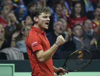 Davis Cup-Finale: Goffin bringt Belgien nach Fehlstart in Führung