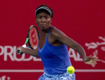 Venus Williams erste Halbfinalistin in Zhuhai