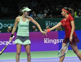 WTA-Finale: Hingis/Mirza gewinnen WM-Krone