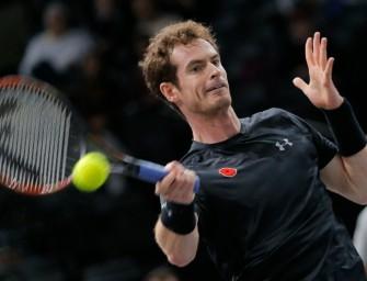 Murray im Finale des ATP-Masters in Paris
