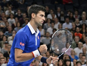 Novak Djokovic siegt beim Masters-Event in Paris!