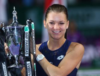 Radwanska gewinnt WTA-Finale in Singapur