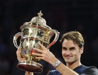 Federer gewinnt zum siebten Mal in Basel
