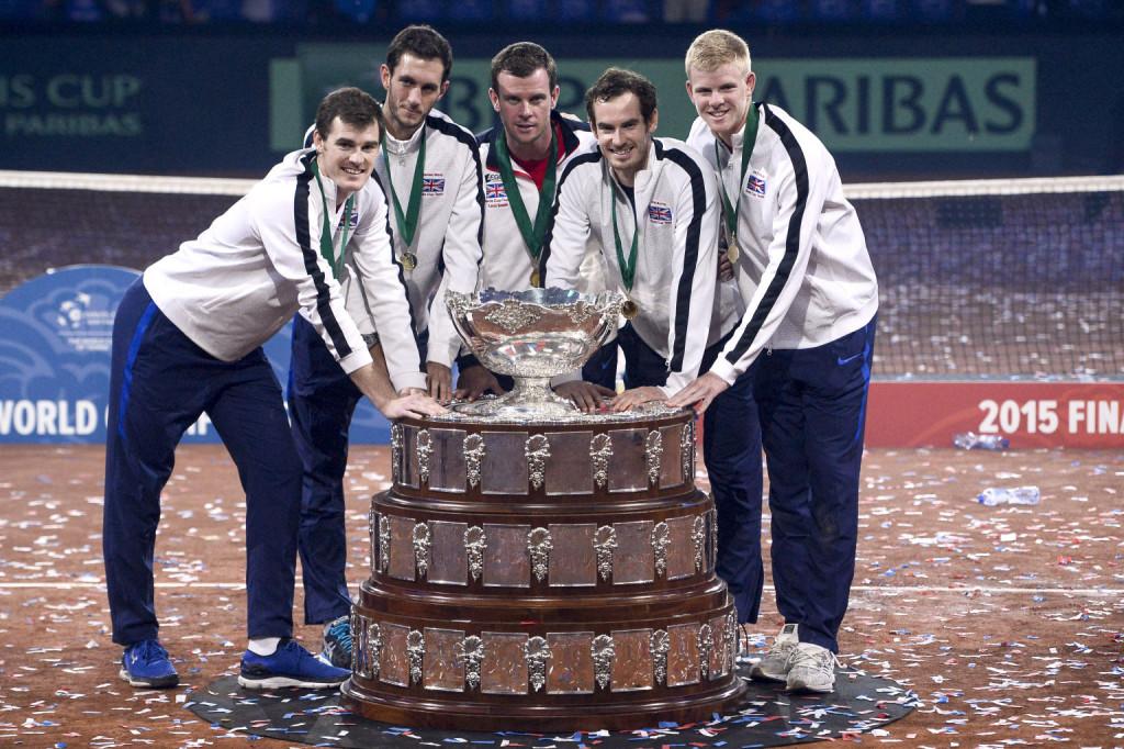 Murray und und das britische Davis Cup-Team