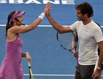 Federer und Hingis: Läuft das Traumduo nun in Rio auf?