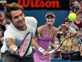 Traum-Mixed bei Olympia: Federer und Hingis starten in Rio
