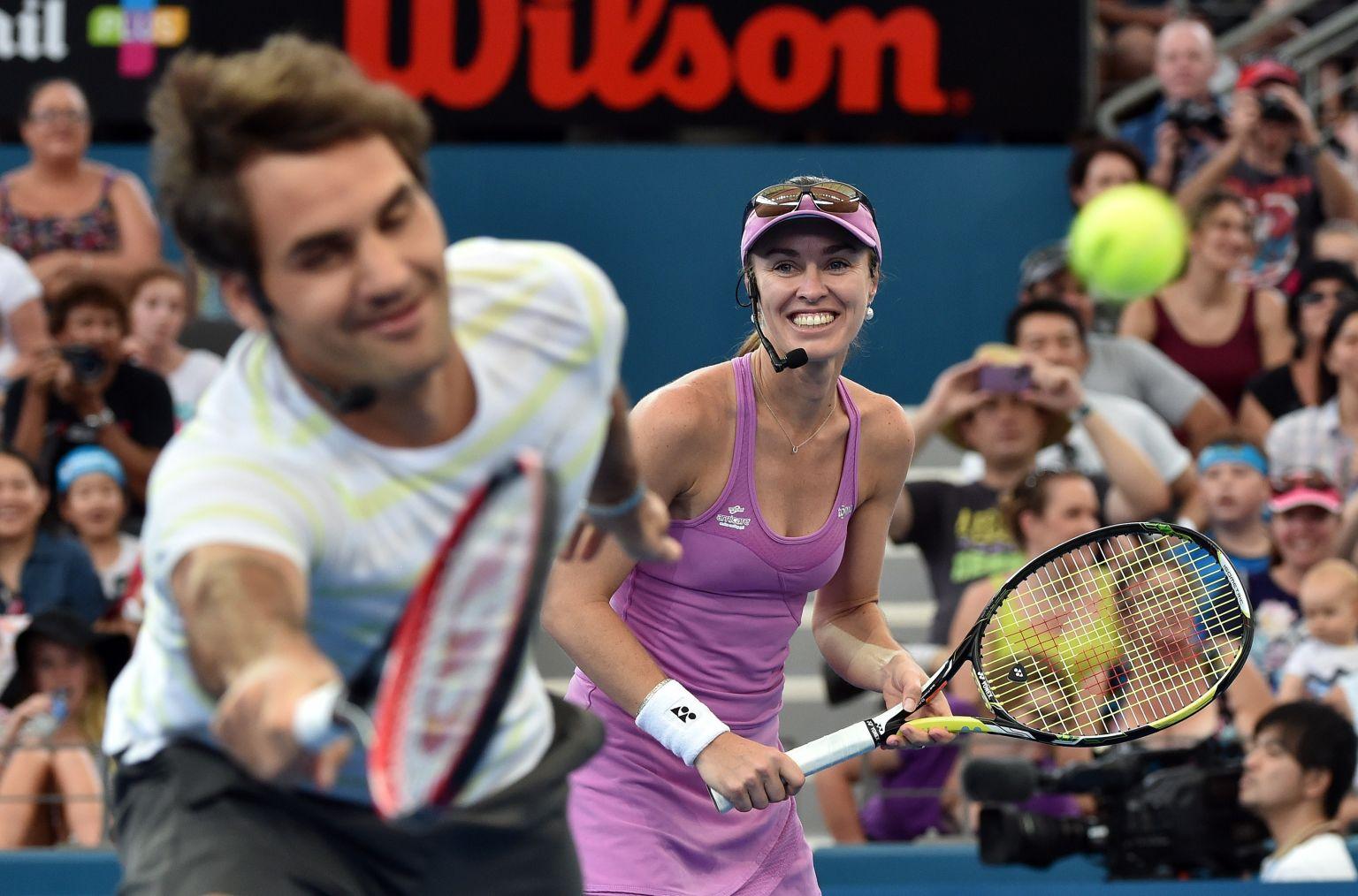 Federer und Hingis