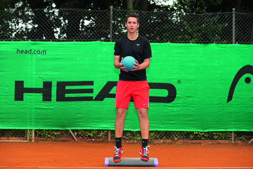 Nic Marchand Training Tennis - Nic Marchand Training - Grand Slam ITF / ATP / WTA -   - Muenchen -  - Germany  - 11 June 2015.
