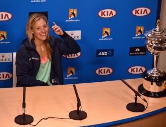 "Kerber-Interview: ""Angie bleibt Angie"""