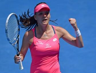 Melbourne: Radwanska zieht ins Halbfinale ein