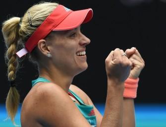 """""""So happy"""": Kerber erreicht Halbfinale der Australian Open"""