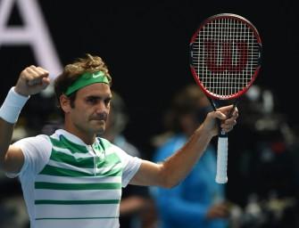 Federer stürmt ins Halbfinale von Melbourne